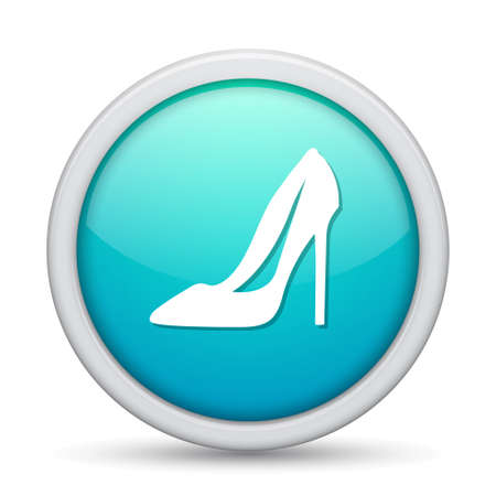 high heel shoes  icon Illustration