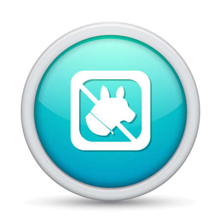 pets icon: no pets  icon Illustration