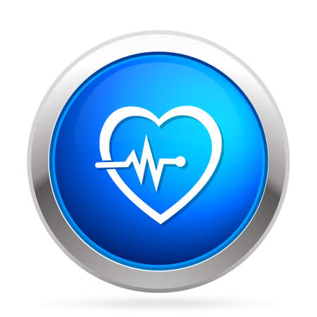 Electrocardiography  icon Illustration