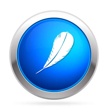 Feather  pen  quill  icon Çizim
