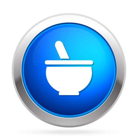 Health bowl icon