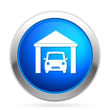 garage on house: House parking  icon