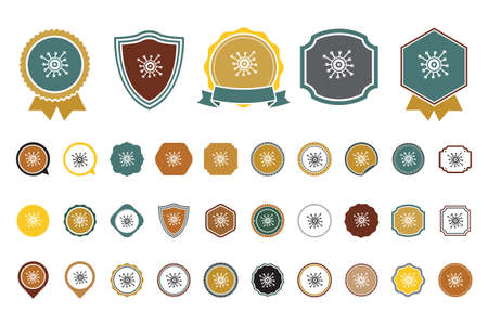 vector Virology  icon Illustration