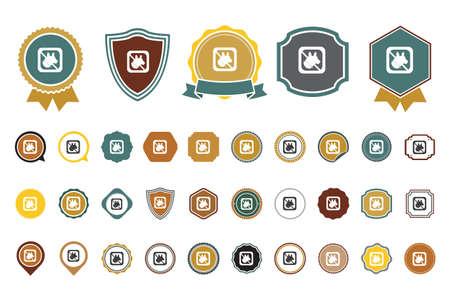 no pets  icon Banque d'images - 100686326