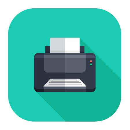 Icône de l'imprimante Vecteurs