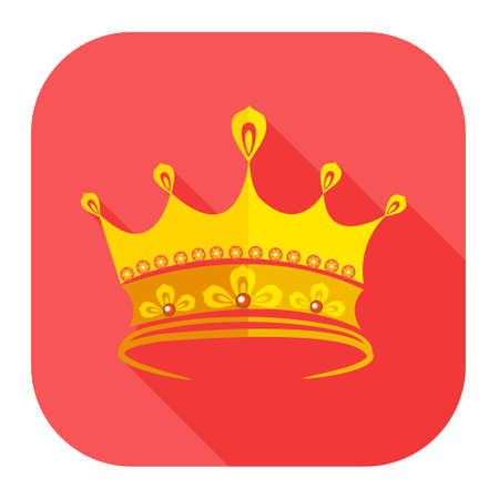 Crown golden icon