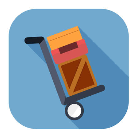 Shipping inventory icon Иллюстрация