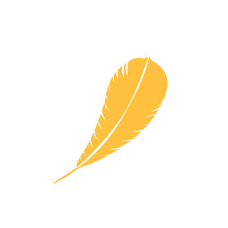 feather pen quill icon