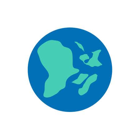 vector world icon Иллюстрация
