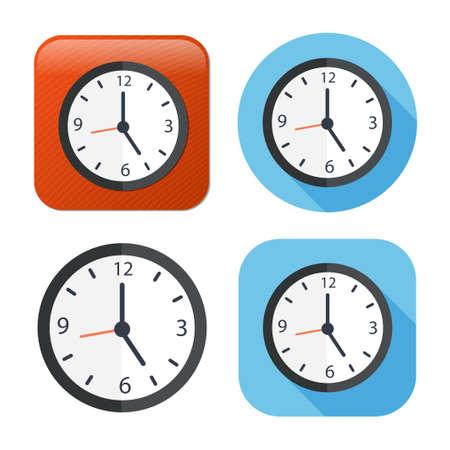 clock icon - vector clock symbol - time icon