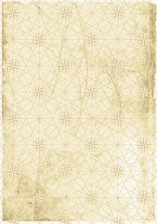 Old Map background Vector