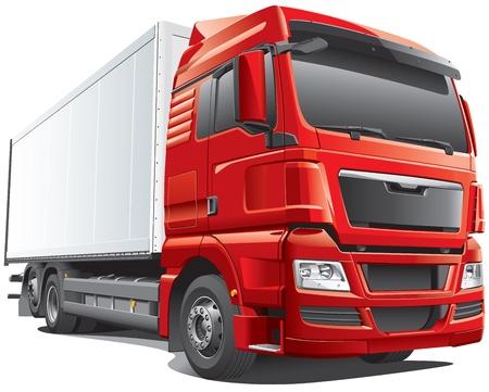 camion: Detalle de la imagen de carro europeo moderno, aislados en fondo blanco. El fichero contiene gradientes. No hay mezclas y accidentes cerebrovasculares. F�cilmente editar: archivo est� dividido en capas l�gicas y grupos. Vectores