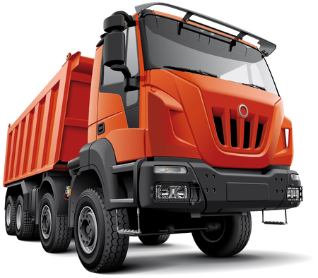 High quality heavy construction truck