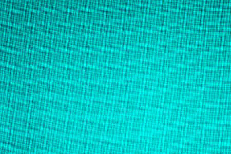 Abstract background, overlay of small grids. Waves, moire, streaks of light and blackout, shade teal