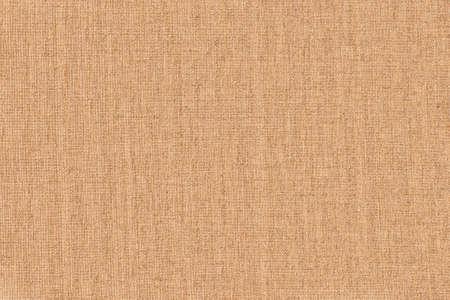 artistic background: light brown linen canvas, close Stock fotó
