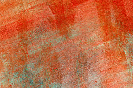 abstract creative background: multicolored blurred spots of colored primer when toning the canvas, temporary object. Foto de archivo