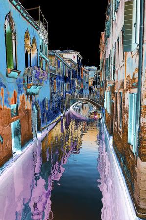 hallucination: Hallucination, landscape of Venice