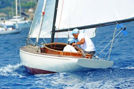 bateau de course: course de bateaux Banque d'images
