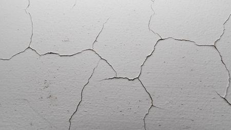 Old cracked plaster wall surface for background or texture Banque d'images