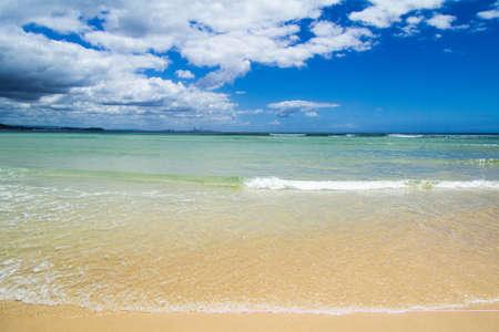 coolangatta: Spiaggia di Raybow Beach, Coolangatta, Gold Coast, New Suoth Wales
