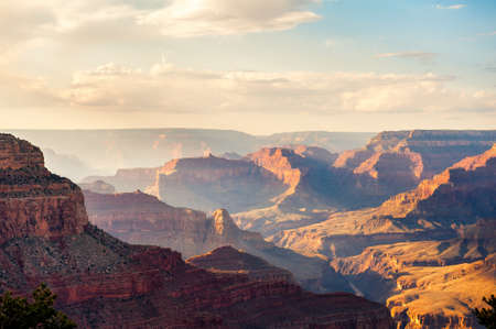 west usa: Sunset in Grand Canyon