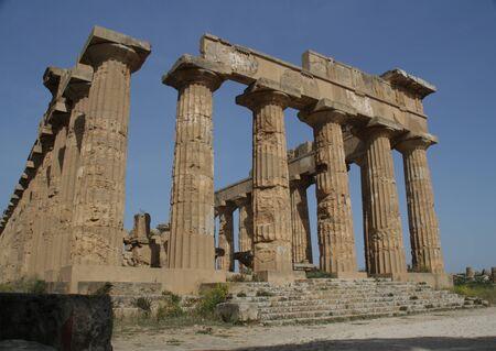 240_0_Selinunte near Trapani, Italy - April 2017_Archaeological Park of Selinunte Archivio Fotografico - 132728710