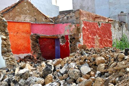 Splendor of the ruined house