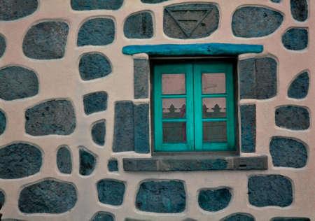 mint window Stock Photo