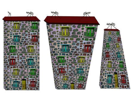 Fantastic houses2-Illustrations