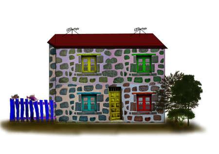 Fantastic houses5-Illustrations
