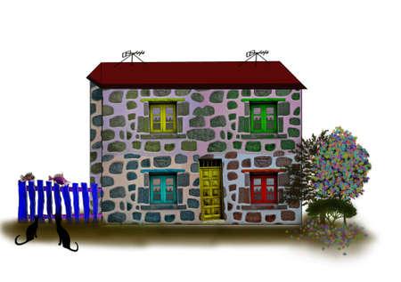 Fantastic houses4-Illustrations