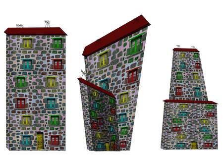 Fantastic houses3-Illustrations