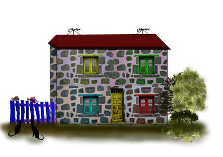 Fantastic houses6-Illustrations