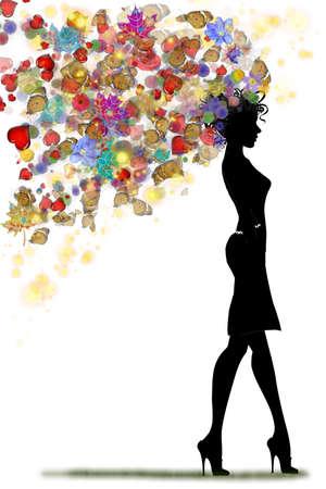 konzept: Illustration - Gutschein, Geschenkkarte Rabatt-Karte, Visitenkarte mit floralen blättern, Wirbel Gold Wirbelmuster Maßwerk Rosa Hintergrund Design für Visitenkarte, Gutschein, Einladung, Ticket etc Vector