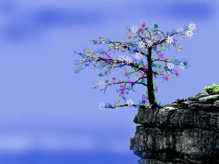 Любители деревьев Иллюстрация