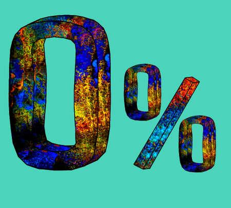 tenancy: Illustration of Zero percent Illustration