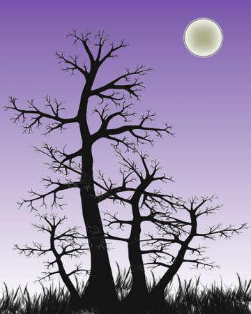 Graphic illustration of tree
