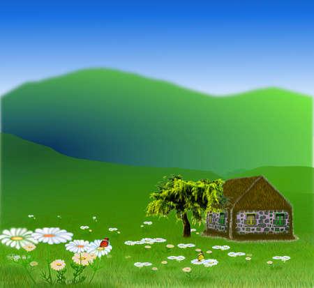 Vector - Vector beautiful landscape banners Иллюстрация