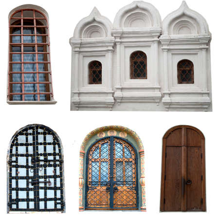 Windows and doors of the Kremlin. Фото со стока
