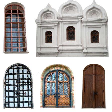 windows and doors: Windows and doors of the Kremlin. Stock Photo
