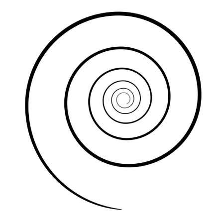 Spiraal pictogram.