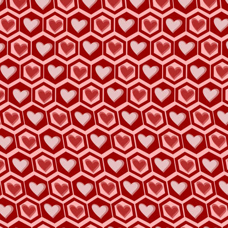 Heart Graphics Pattern