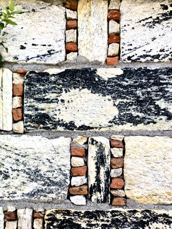 Wall background. Stone wall for background. Artistic stone wall texture