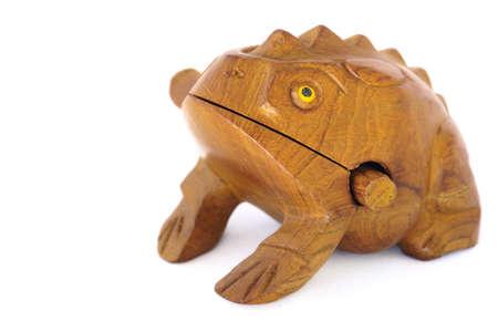 Frog souvenir photo