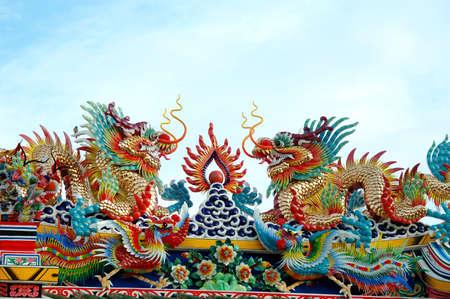 chiness: Chiness Dragon Stock Photo