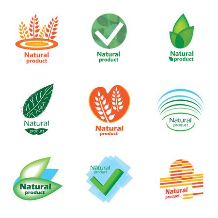 Natural product set logo