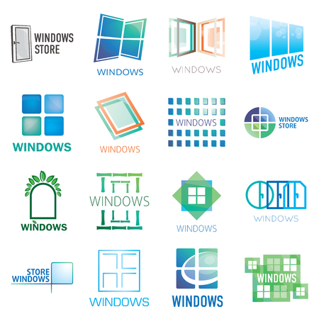 Set icon of Windows and doors