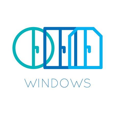 le thème des fenêtres et des portes