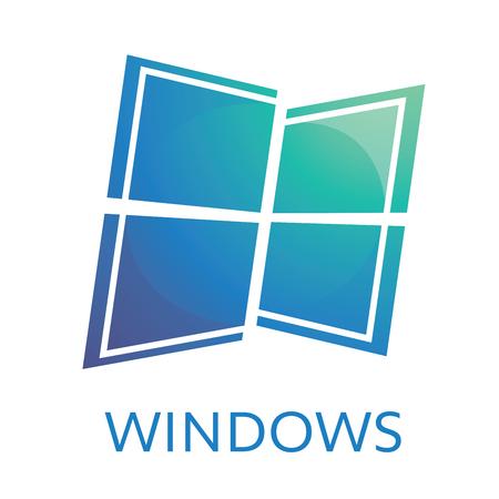 the theme of Windows or doors Illustration