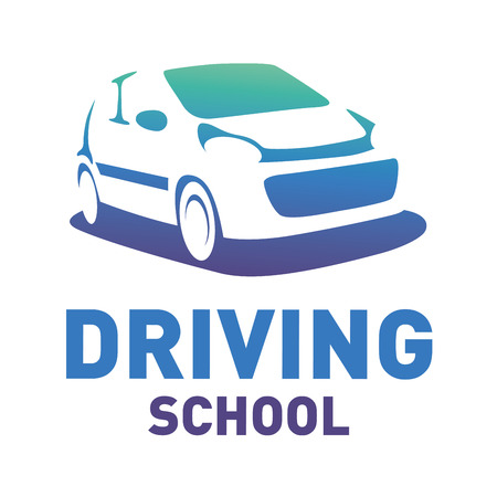 the theme of driving school, car